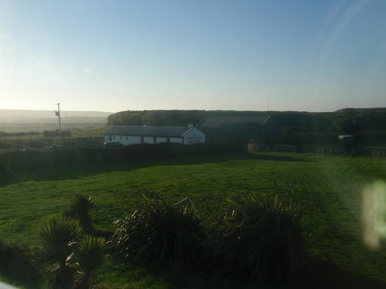 Kilmurvey House: The view from our room