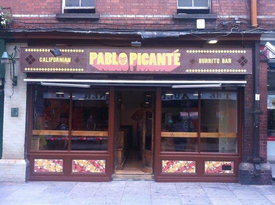 Pablo Picante: Pablo's Temple Bar