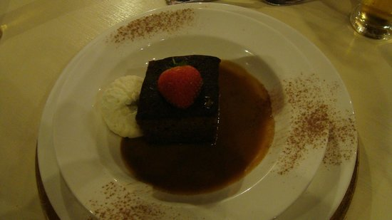 The Royal Arms Restaurant & Hotel: Treacle pudding