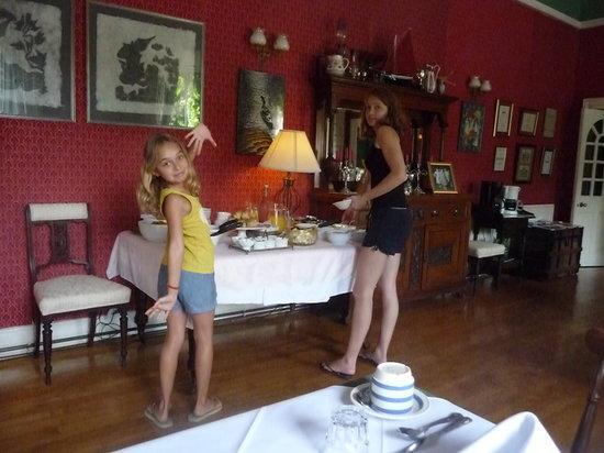 Mallmore Country House: le petit dej (assiette servie en +)