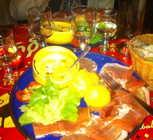 Chez Le Gaulois : ham and cheese