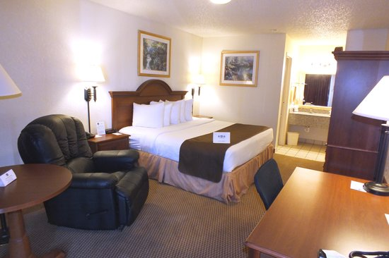 BEST WESTERN Whitten South: King room