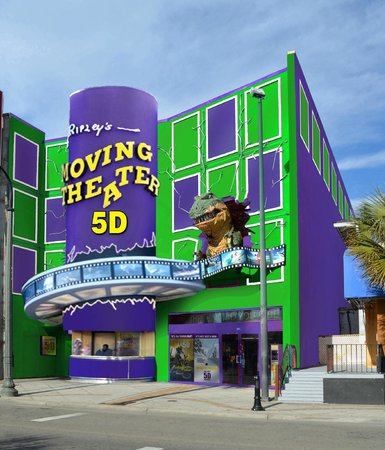 Ripley's 5D Moving Theater : Building show