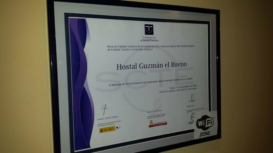 Guzman El Bueno: Premio Calidad Turistica