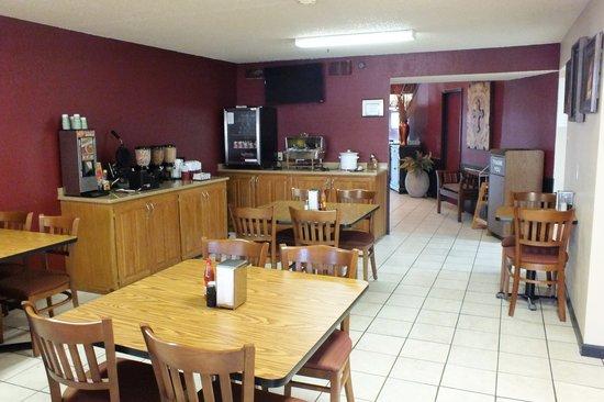 Days Inn Abilene: Breakfast room