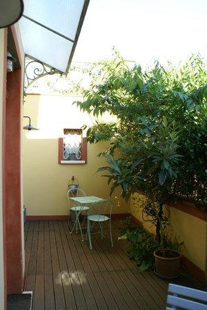 Capannetti B&B : Terrasse