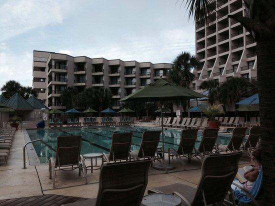 Hilton Head Marriott Resort & Spa: The pool