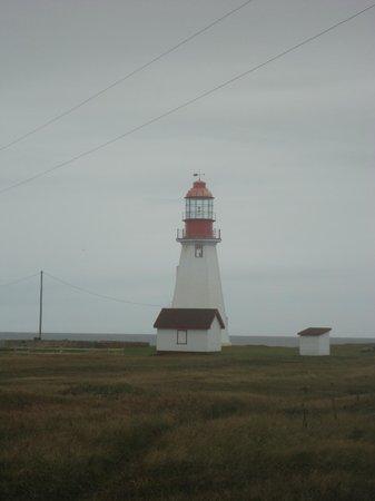 Port au Choix National Historic Site of Canada: Port au Choix light tower