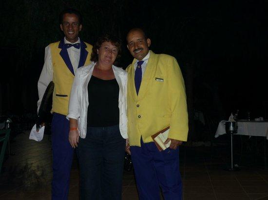 Saphir Palace & Spa: Мои любимые официанты