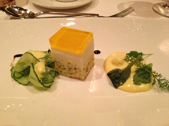 Hotel MOHR life resort: Smoked trout mousse