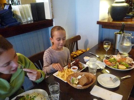 Linnane's Lobster Bar : assiettes généreuses