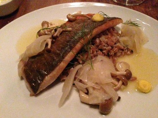 Les 400 Coups: Arctic char and fennel - absolutely delicious!