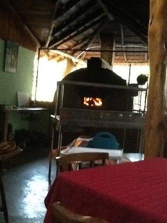 Rancho Tico: El nuevo horno de leña