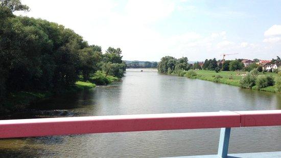 Praha Bike -  Bicycle Tours & Rentals : River Crossing