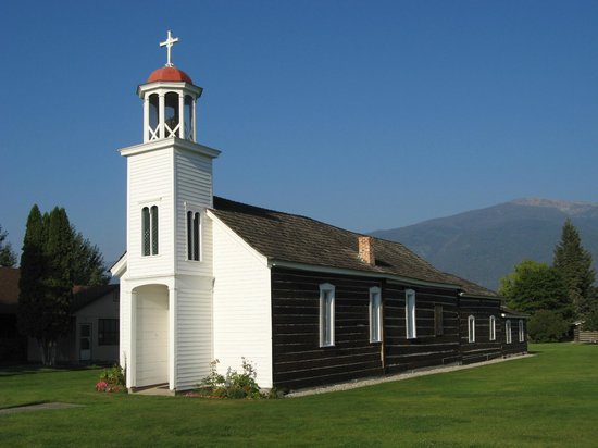Stevensville, MT: St. Mary's Mission