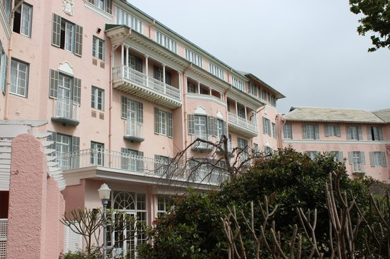 Belmond Mount Nelson Hotel: The pink lady