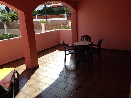 Marola Park : Balcony @ room 122