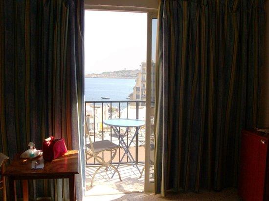 Il Palazzin Hotel: Bellissima vista mare