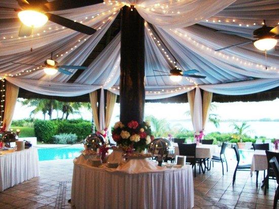 Grand Isle Resort & Spa: Reception January 2013