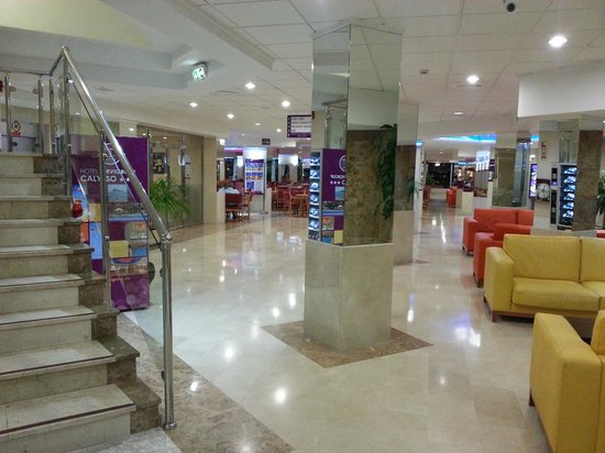 Servigroup Calypso: The foyer