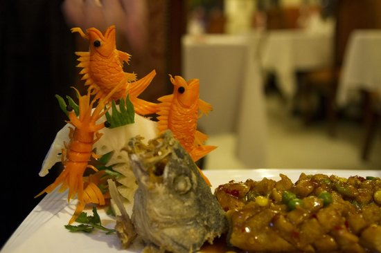 Xiang Gong Chinese Restaurant: tasty fish dish