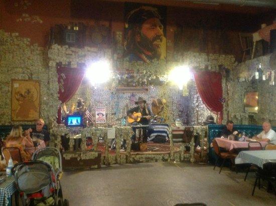 Oatman Hotel: Inside the hotel
