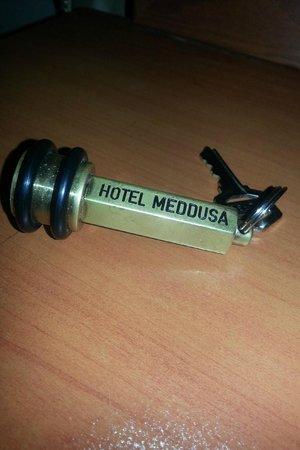 Meddusa Hotel: Ключ от номера