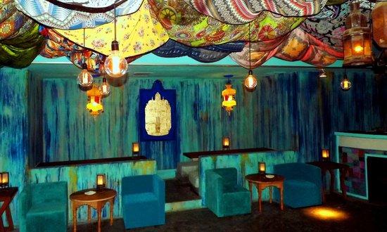 Zanzibar Underground : salon azul