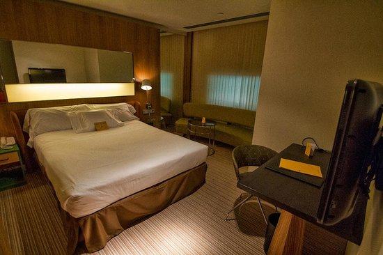 Alfonso Hotel: Vista general desde el Hall de entrada