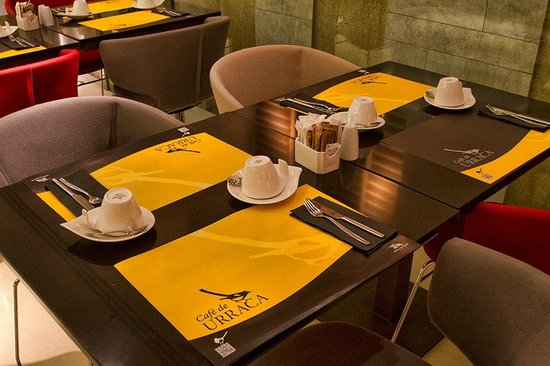 Alfonso Hotel: Detalles cafetería