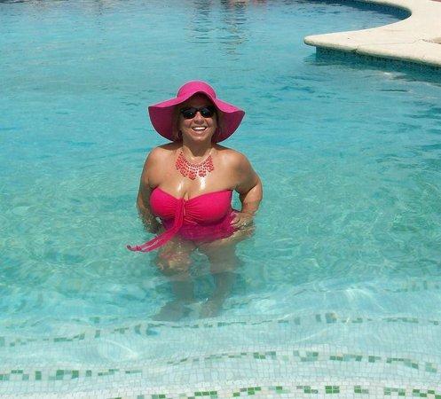 En la Alberca de Villas Flamingos...Un Placer.