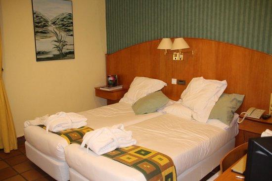 Hotel L'Estacio: Bedroom