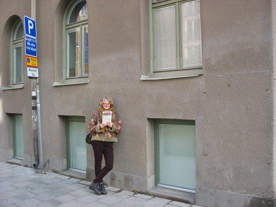 bij ons slaapkamerraam - picture of hostel dalagatan, stockholm, Deco ideeën