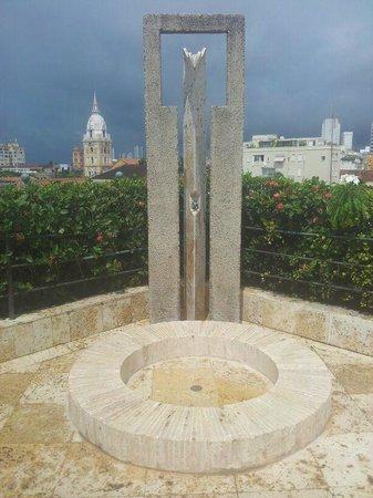 Charleston Cartagena Hotel Santa Teresa: La ducha de la piscina
