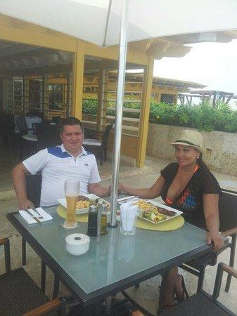 Charleston Cartagena Hotel Santa Teresa: Restaurante en la terraza del hotel