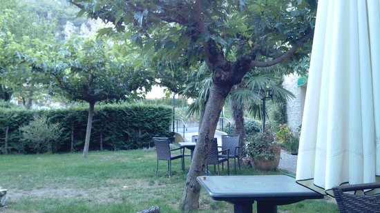 Hotel Le Moliere: terrasse