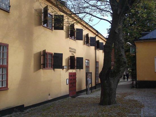 Moderna Museet - Stockholm : ile de skepsholmen
