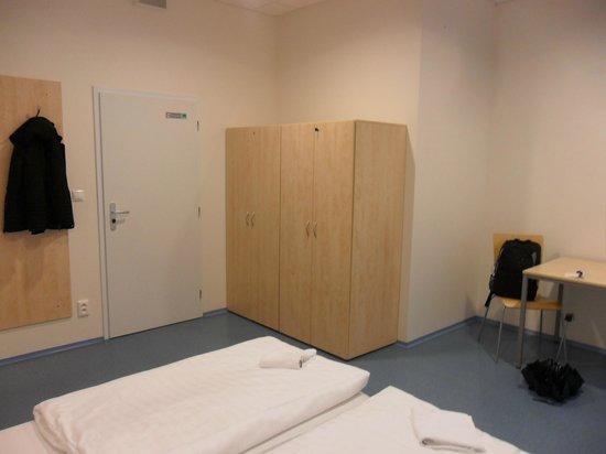 Hostel Florenc: Habitación Doble con baño compartido.