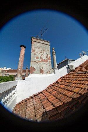The Independente Hostel & Suites: Терраса на самой крыше