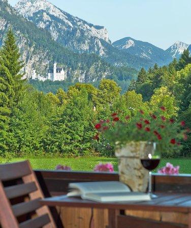 Ferienhaus Seitz: Blick vom Balkon