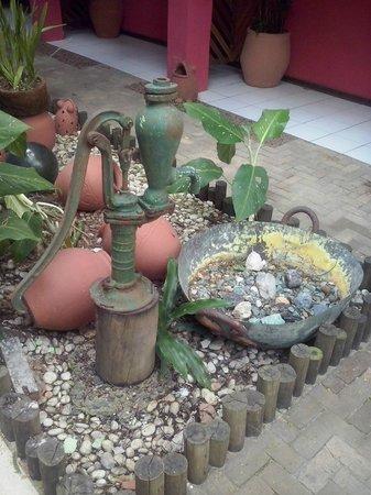 Pousada Joao Sol: Detalhe de jardim da Pousada.