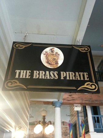 The Brass Pirate