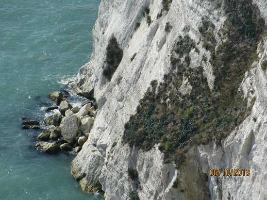 Kreidefelsen von Dover: The other side of the CLiff