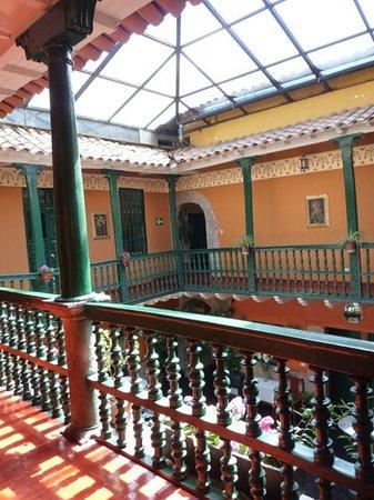 La Casona Real Hotel: Second floor