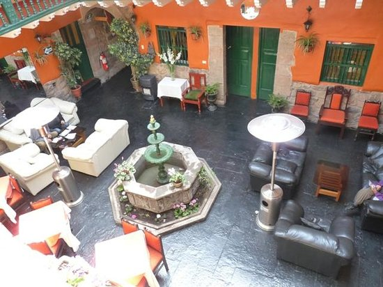 La Casona Real Hotel: View from the second floor