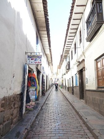 La Casona Real Hotel: Calle Procuradores, where the hotel is located