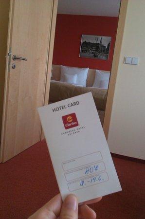 Clarion Congress Hotel Ostrava: Room