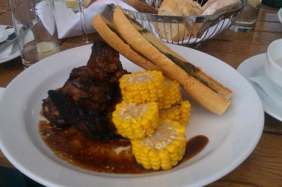 Clarion Congress Hotel Ostrava: Delicious dinner - Pork ribs