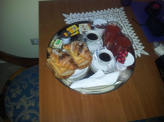 Le Terrazze Del Vaticano: The breakfast