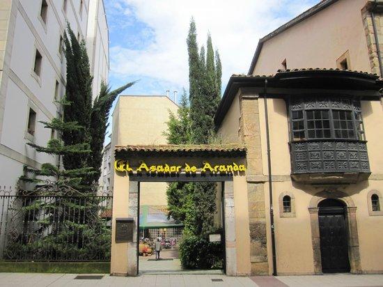 Asador de Aranda: Exterior.